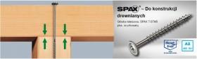 SPAX - HI.FORCE 8 mm Nierdzewny, gwint pełny