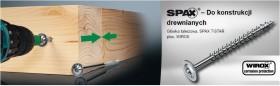 SPAX - HI.FORCE 6 mm, gwint pełny