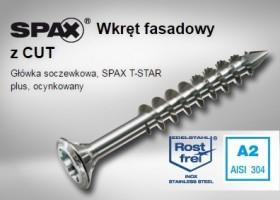 SPAX - WKRĘT FASADOWY NIERDZEWNY