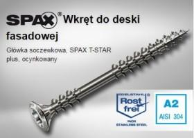 SPAX - WKRĘT FASADOWY DOCIĄGAJĄCY NIERDZEWNY