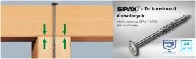 SPAX - HI.FORCE 8 mm Nierdzewny, gwint częściowy