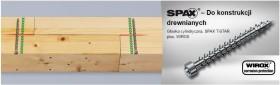 SPAX - IN.FORCE 8 mm, gwint pełny