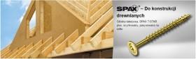 SPAX - HI.FORCE 10mm, gwint pełny