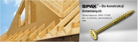 SPAX - HI.FORCE 8mm, gwint pełny